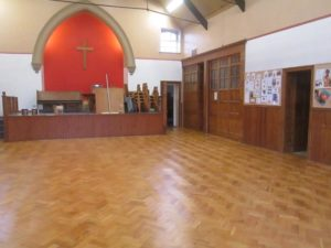 church new parquet floor newcastle area