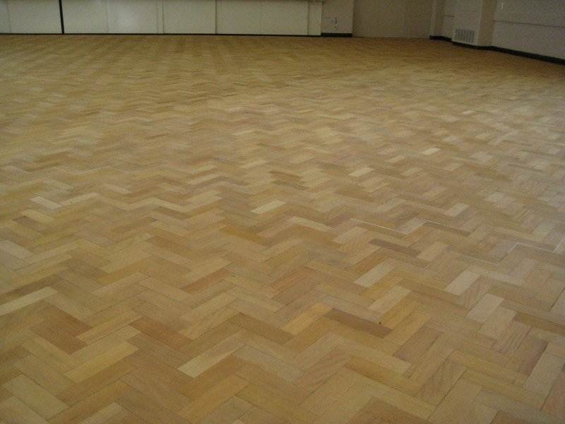 just laid parquet floor gateshead